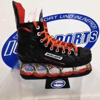 BAUER T-BLADE NSX SKATE ORANGE HOLDER+STABI 13